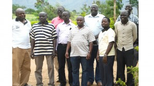 Steering Commitee memmbers of Agoro-Agu ENR-CSO Platform with IUCN and Environmental Alert Officials
