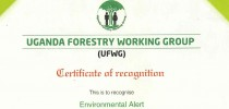 Environmental Alert recognized for hosting UFWG